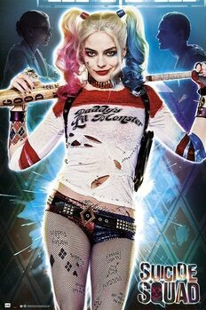 Poster Suicide Squad - Harley Quinn - Daddy's Lil Monster