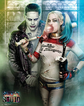 Suicide Squad - Joker And Harley Quinn Poster