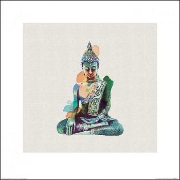 Summer Thornton - Jade Buddha Art Print