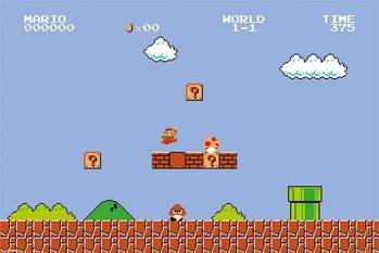 Super Mario Bros. - 1-1 Poster