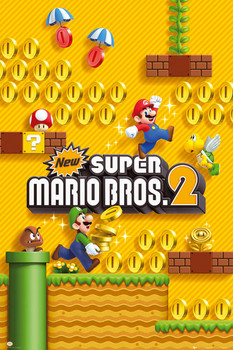 Super Mario Brothers 2 Poster