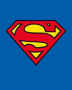 Poster Superman - Classic Logo