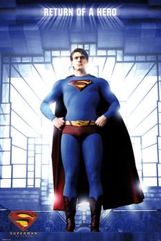 SUPERMAN - hero Poster