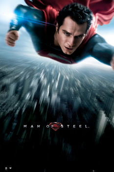 SUPERMAN MAN OF STEEL - one sheet Poster