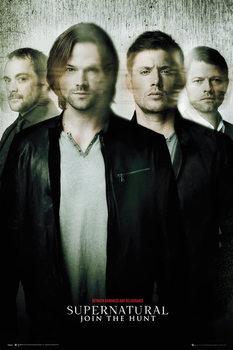 Supernatural - Blur Poster