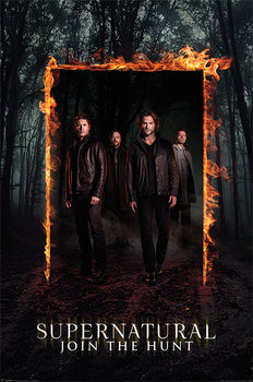 Poster  Supernatural - Burning Gate