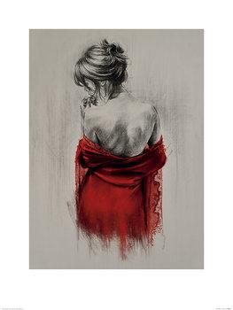 T. Good - Red XXXVIII Art Print