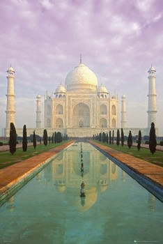 Taj Mahal Poster, Art Print