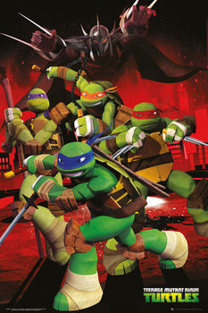 TEENAGE MUTANT NINJA TURTLES - characters Poster