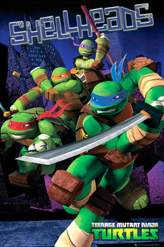 TEENAGE MUTANT NINJA TURTLES - shellheads Poster