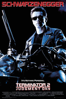 Terminator 2 - One Sheet Poster, Art Print
