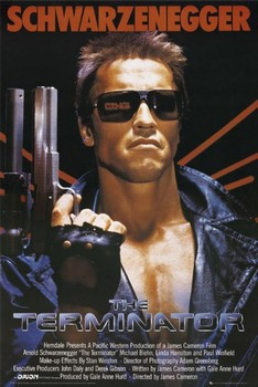 TERMINATOR - one sheet Poster, Art Print