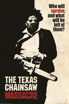 Poster Texas Chainsaw Massacre - Who Will Survive?