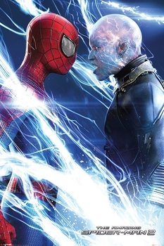 The Amazing Spiderman 2 - Spiderman and Electro Poster, Art Print