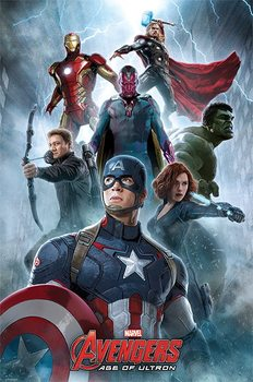 The Avengers: Age Of Ultron - Encounter Poster, Art Print