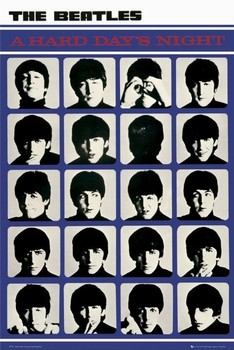 Pôster the Beatles - hard days night