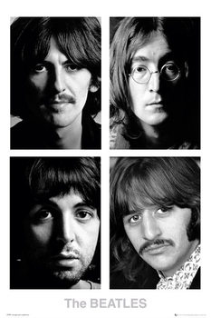 Pôster The Beatles - White album