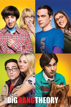 Poster The Big Bang Theory - Blocks