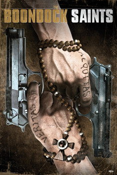 THE BOONDOCK SAINTS - duel guns Poster