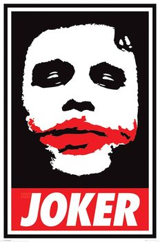 Poster The Dark Knight - Obey The Joker