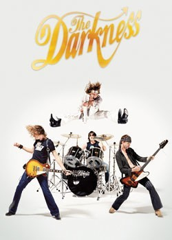 the Darkness - jumping Poster