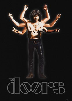 the Doors - Morrison arms Poster
