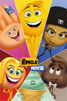 Poster The Emoji Movie - Star Characters