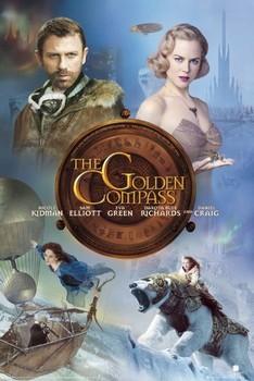 THE GOLDEN COMPASS - one sheet Poster, Art Print
