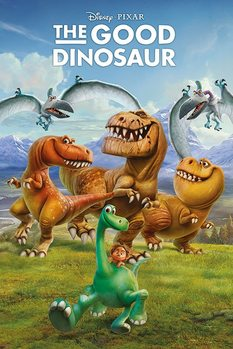 The Good Dinosaur - Characters Poster, Art Print