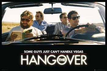 THE HANGOVER - car Poster