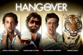 Poster THE HANGOVER - strips