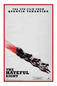 The Hateful Eight - Teaser Poster, Art Print