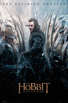 The Hobbit 3: Battle of Five Armies - Bard Poster, Art Print