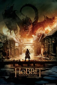 Poster The Hobbit - Smaug