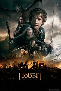 Poster The Hobbit - The Battle of the Five Armies