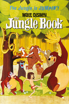 Pôster The Jungle Book - Jumpin