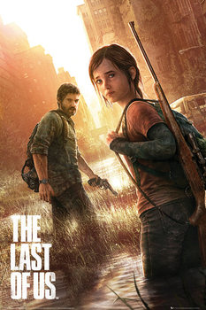 The Last of Us - Key Art Poster, Art Print