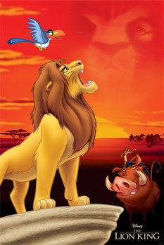 Poster The Lion King - King of Pride Rock