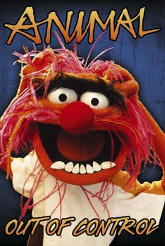 Poster  THE MUPPETS - animal