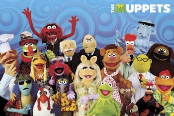 THE MUPPETS - cast Poster