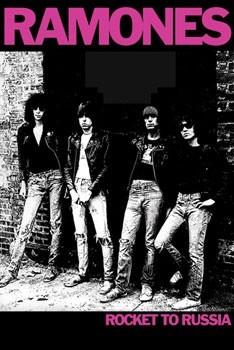 the Ramones - Rocket Poster