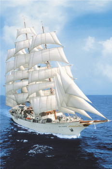 The sea cloud Poster