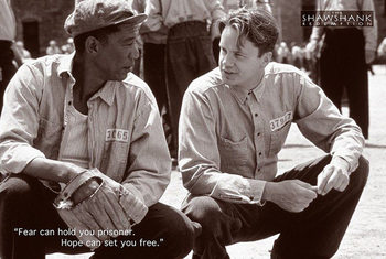 Pôster THE SHAWSHANK REDEMPTION - tim robbins, morgan freeman