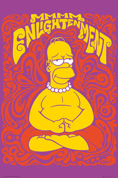 The Simpsons - Enlightenment Poster, Art Print