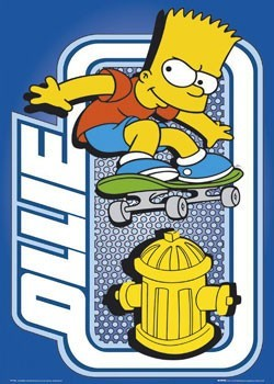THE SIMPSONS - ollie Poster