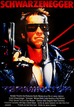 THE TERMINATOR - one sheet Poster