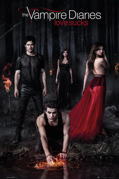 Poster The Vampire Diaries - Woods