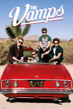 The Vamps - Car Poster
