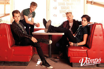 The Vamps - Diner Poster