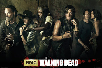 The Walking Dead - Season 5 Poster, Art Print